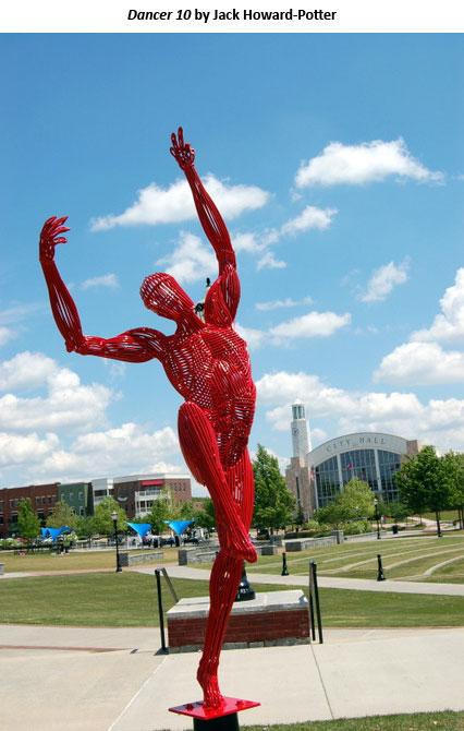 Dancer 10 by Jack Howard-Potter