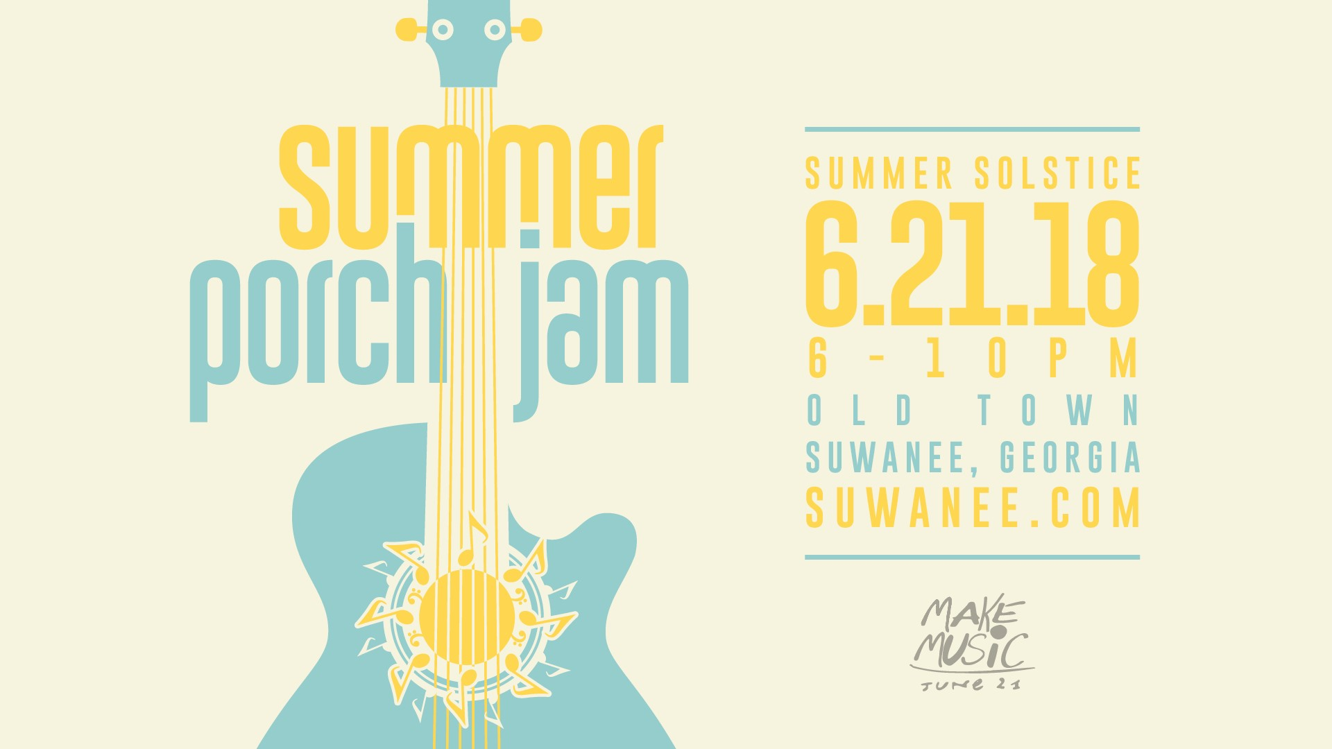 Summer Porch Jam 2018