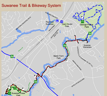 Suwanee Trail and Bikeway System