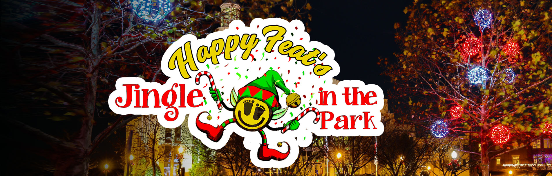 Happy Feat's Jingle in the Park
