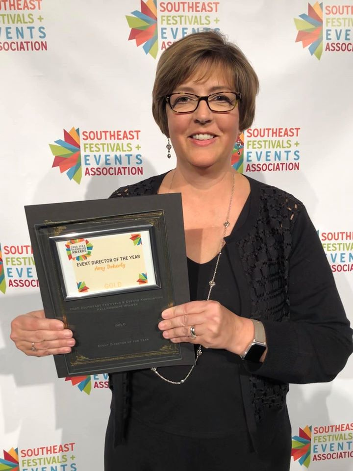 City of Suwanee Employee Named Event Director of the Year by the Southeast Festivals and Events Association