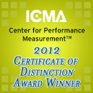 icma 2012 cert of distinction