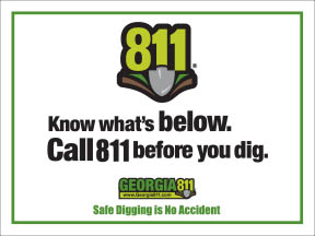 811 before you dig