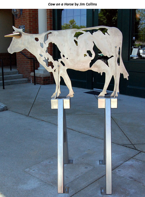 Cow on a Horse by Jim Collins